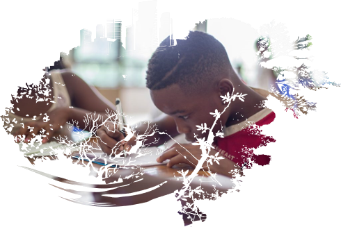 Detroit Impact Homepage Image - Boy Drawing Picture